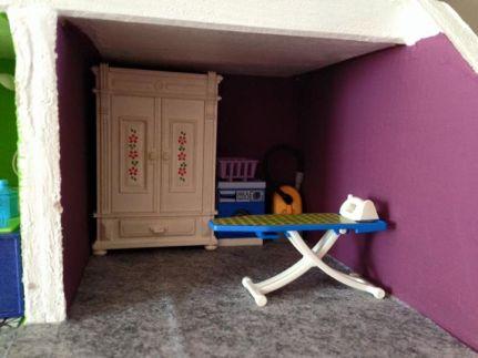 maison playmobil dressing