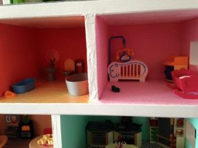 maison playmobil nurserie