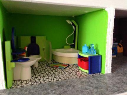 maison playmobil sdb