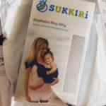 On a testé le Sukkiri, pour porter bébé dans l'eau et en été !