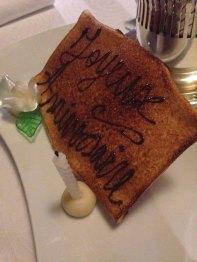 dessert anniversaire cassagne