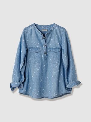 blouse chambray 16€80