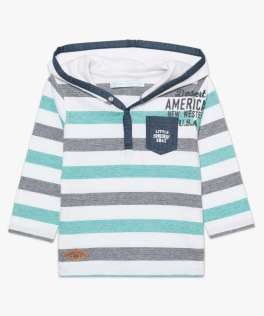 t shirt capuche 8,99 €
