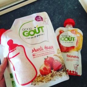 muesli fraise good gout