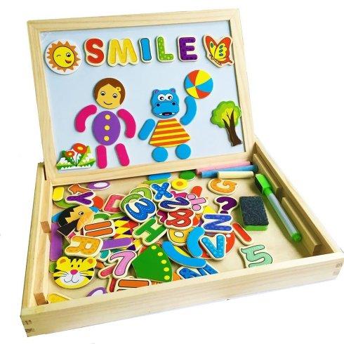boite de jeux en bois 18€95 chez Amazon