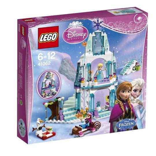 chateau reine des neiges lego