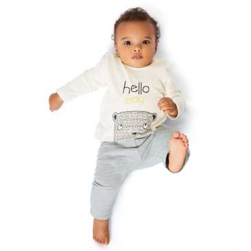 ensemble bebe boy 8€