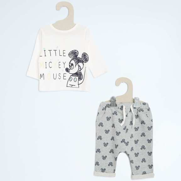 ensemble bebe mickey 13€
