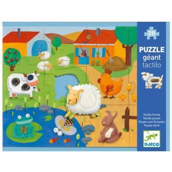 djeco puzzle tactile