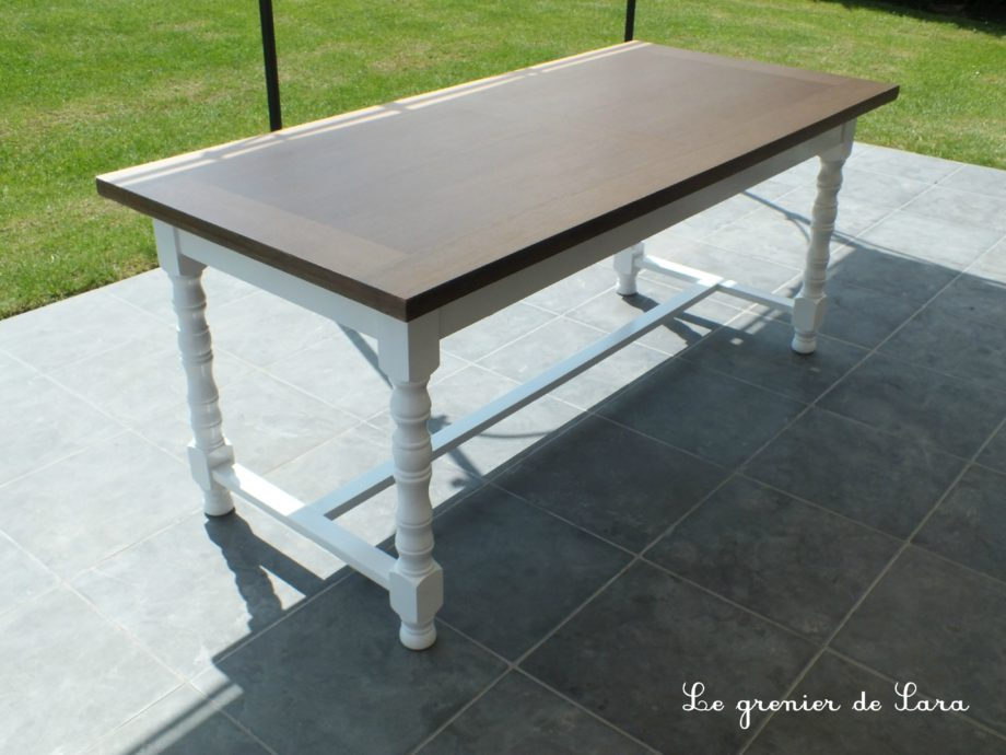 Repeindre Une Table Basse. Cool Table Basse Brun Noir Repeindre ...