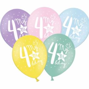 ballons pastel vegaooparty