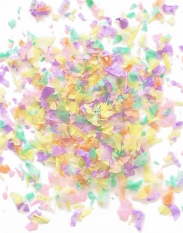confetti pastel vegaooparty