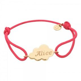 bracelet-nuage-plaque-or-3-microns---personnalisable