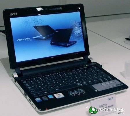 Acer Aspire One D250, Precio, Drivers 1