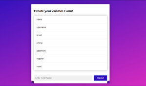 HTML Form Builder By MD Khokon – Free Download