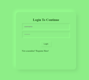 Simple Login and Registration System Using PHP