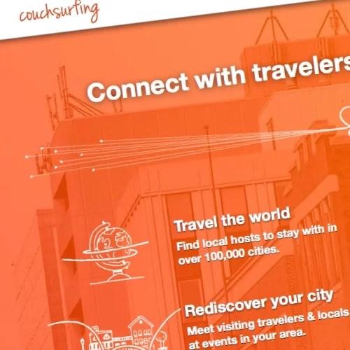 Couchsurfing: el traumático paso hacia una compañía comercial