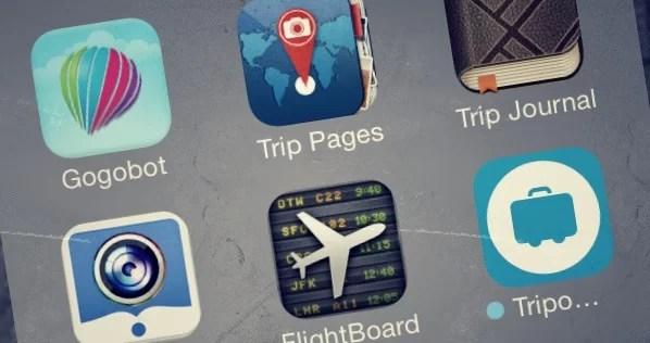 Aplicaciones para viajes en dispositivos móviles: sobre su falta de uso y la vida cotidiana