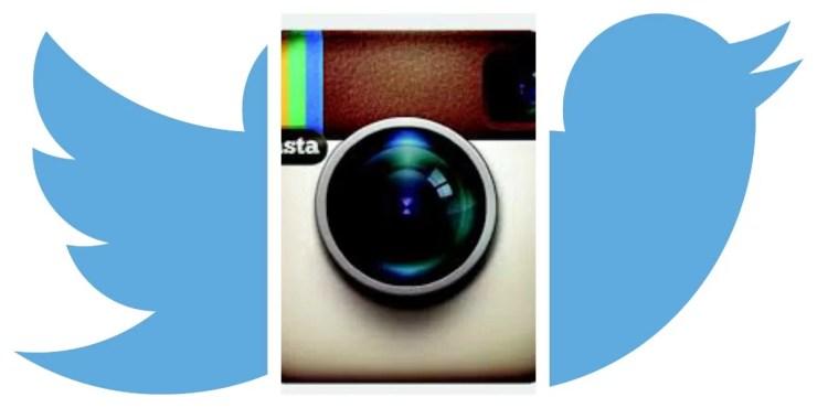 Twitter + Instagram