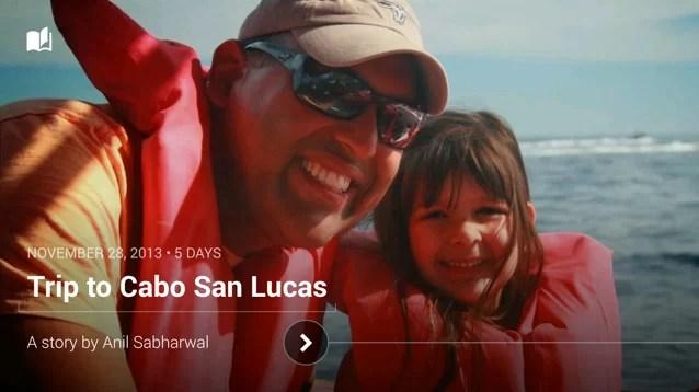 Google+ stories