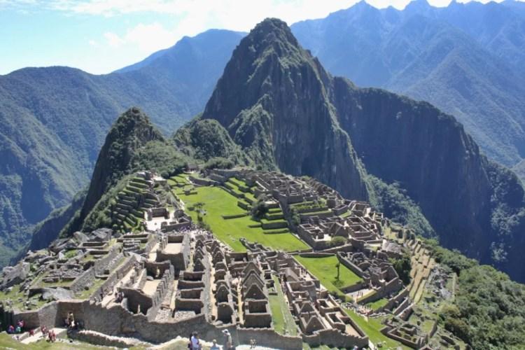 Machu Picchu, junio de 2014