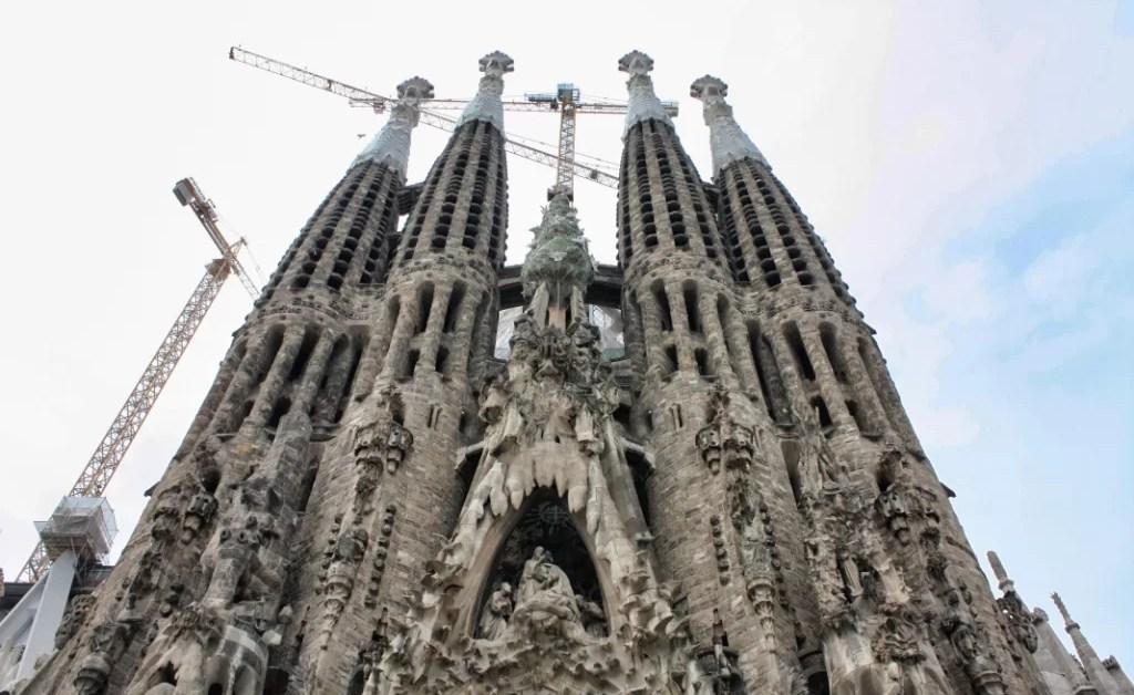 Cronicas de Barcelona 5: Sagrada Familia, recorrido y fotos