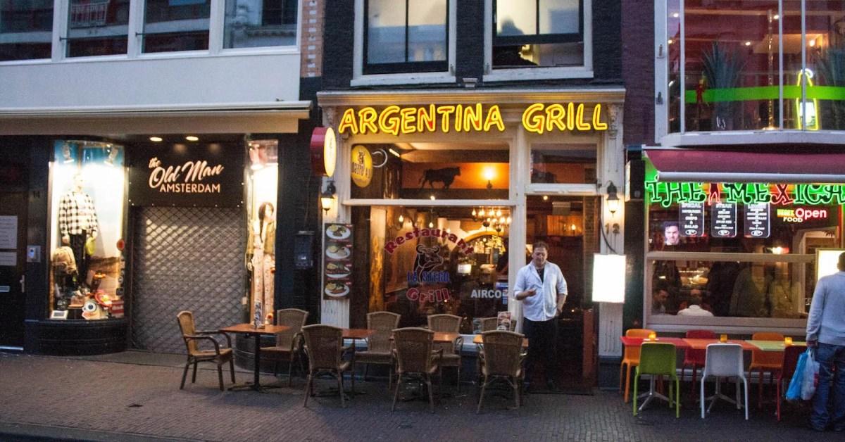 Amsterdam 1: una colección de fotos de parrillas argentinas