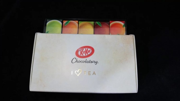 KitKat Chocolatory Tea