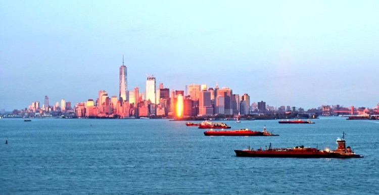 Atardecer en New York
