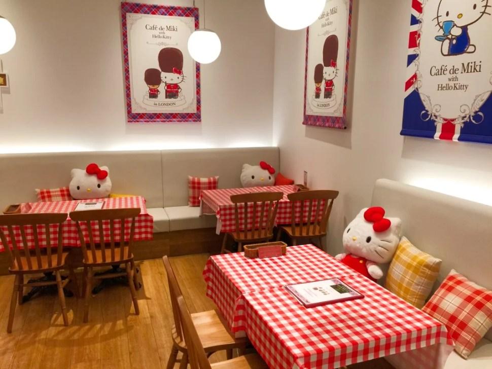 Cafe de Miki + Hello Kitty