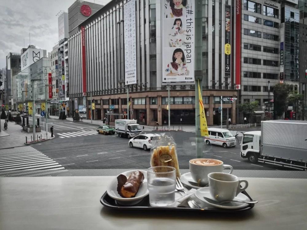 Tokio: Doutor café en Ginza