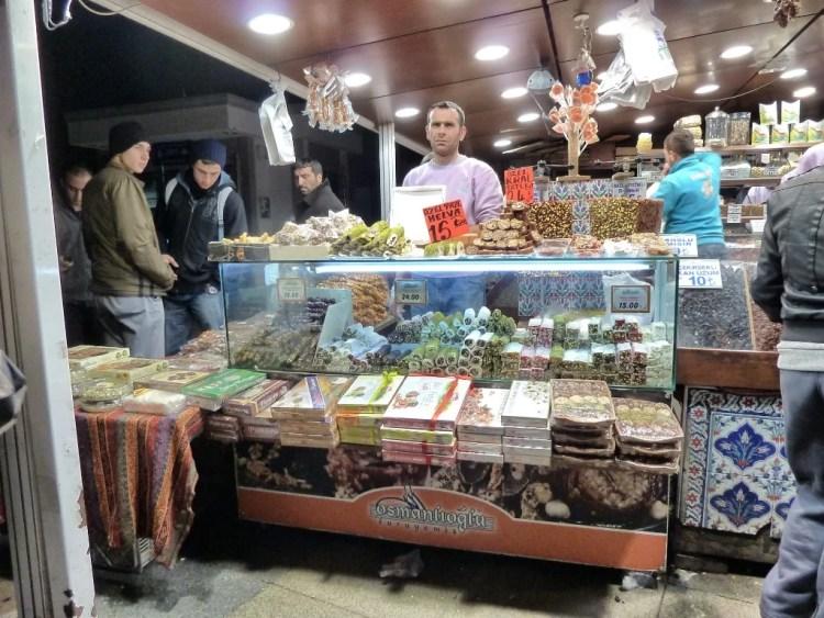 Dulcerías en Estambul