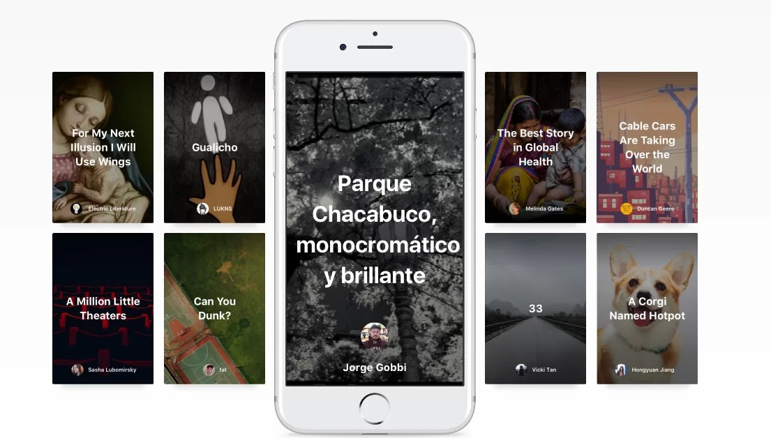 Medium y su apuesta por el storytelling en móviles