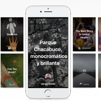 Storytelling para móviles en Medium