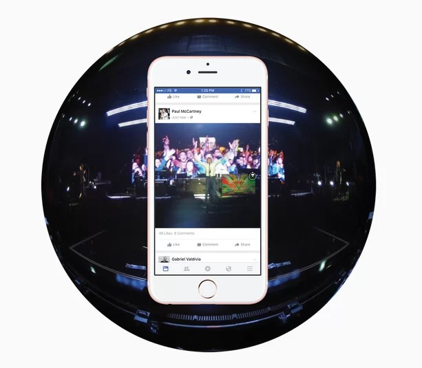 Facebook y el video 360