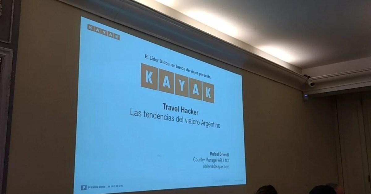 Del viajero argentino a TravelHacker: información y tendencias según Kayak