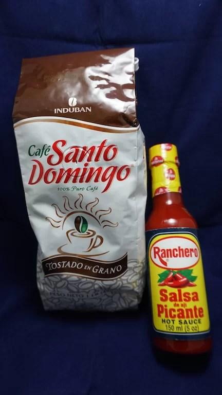 Café dominicano + picante