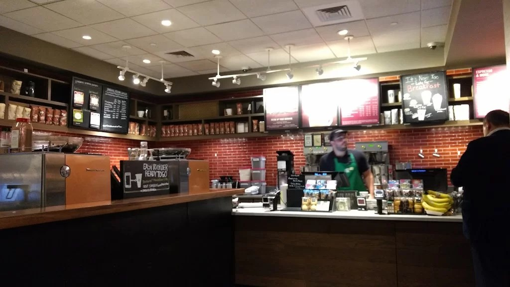 Starbucks Reserve: meh