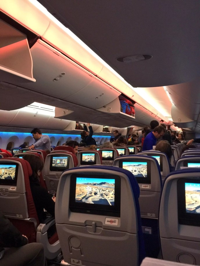 Avion pantallas