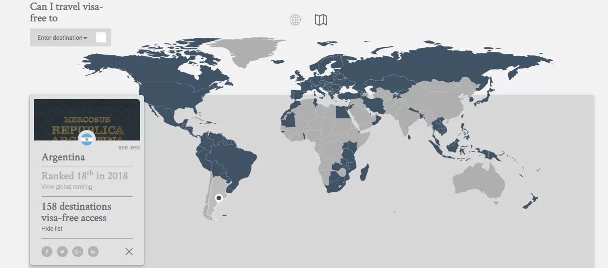 Ranking global de pasaportes 2018: ¿qué países necesitan menos visas?