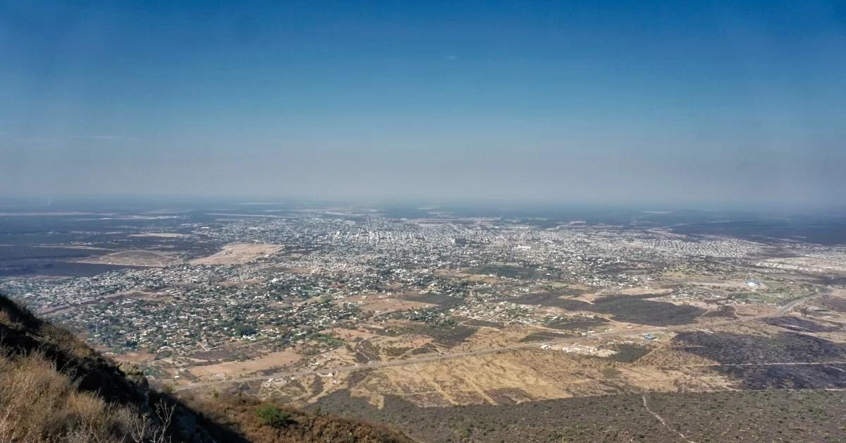 Viaje a La Rioja 1: Cerro de la Cruz, vistas y parapente