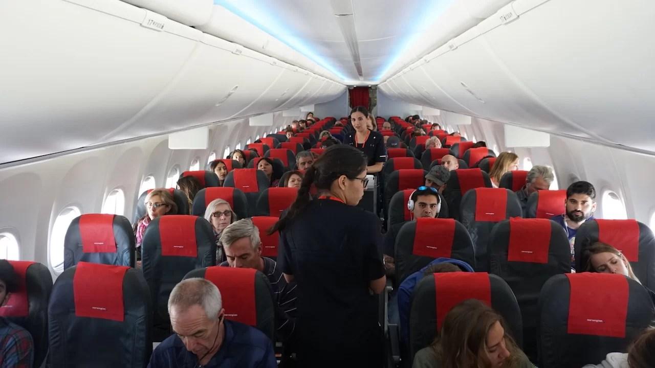 Vuelo inaugural de Norwegian a Bariloche