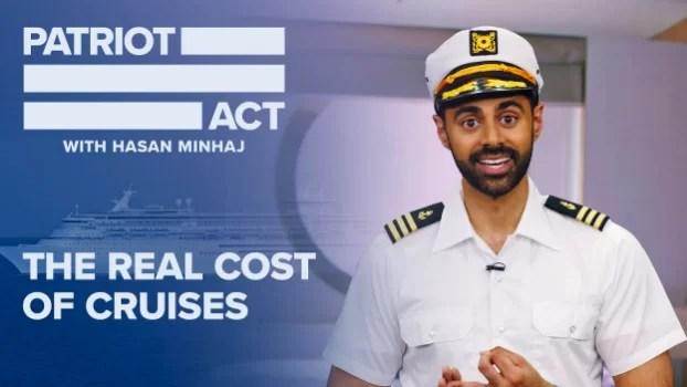 Hasan Minhaj y el otro lado de los cruceros