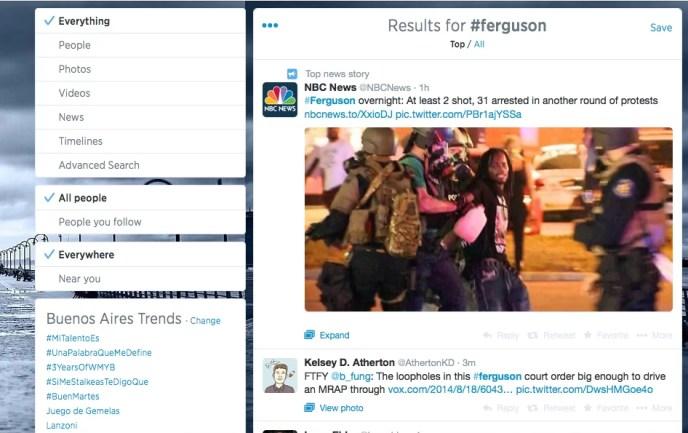Twitter y la información