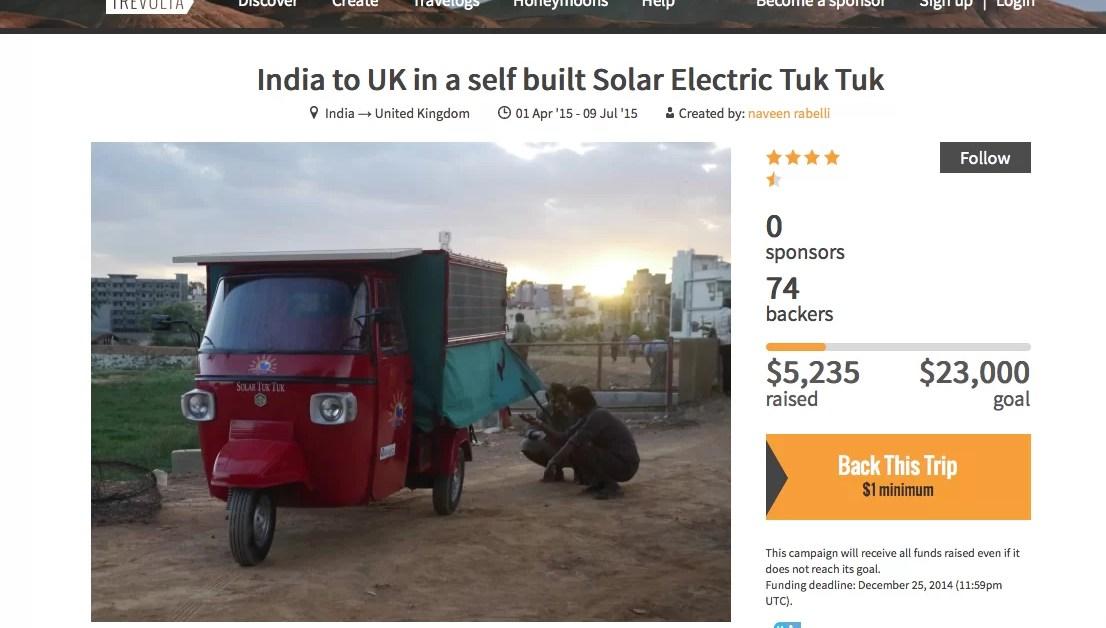 Crowdfunding y viajes: sobre financiación, sueños y productos