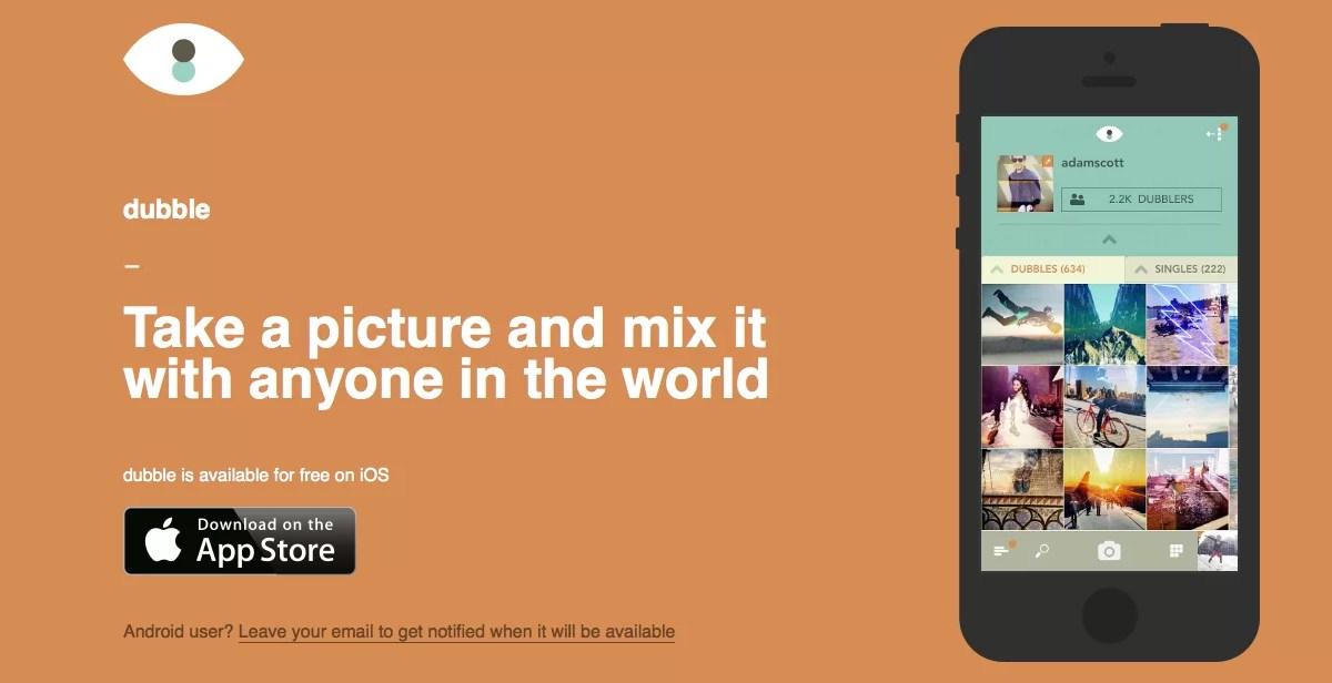 Dubble, crear imágenes con doble exposición a partir de fotos de otros