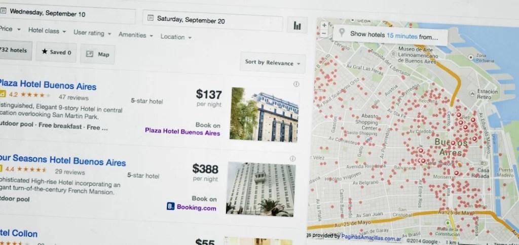 Agencias de viajes online: Google cambia el juego