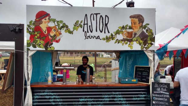 Cerveza Astor
