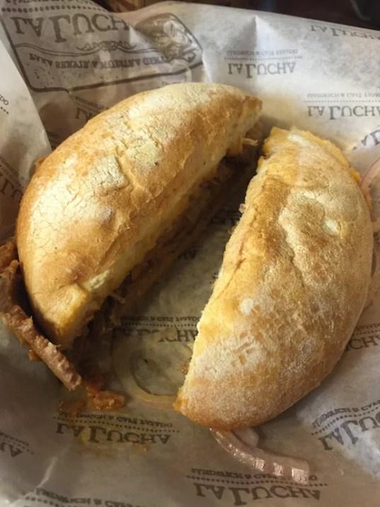 Sandwich en La Lucha