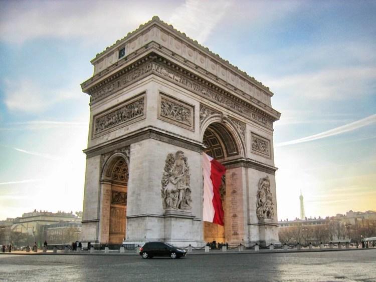 Arco del Triunfo, París